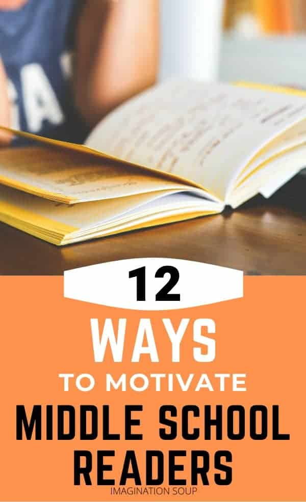12 ways to motivate middle school readers