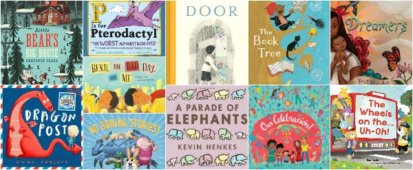 14 New Picture Books, Late Fall 2018