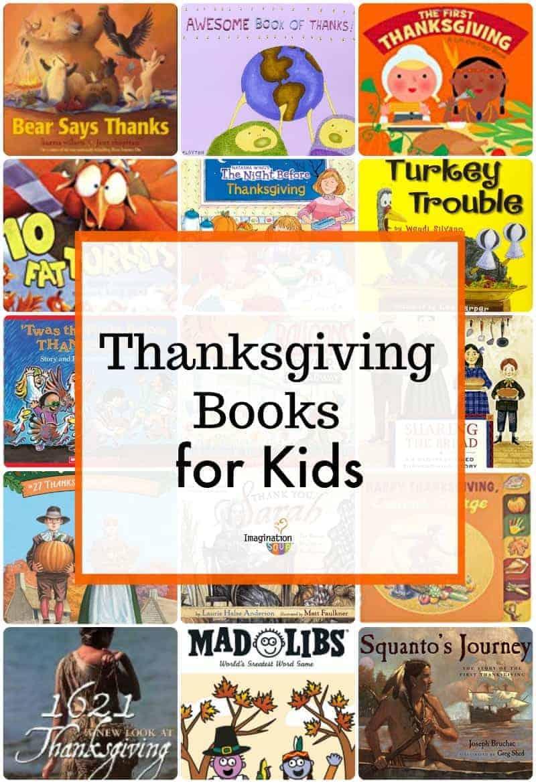 16 Thanksgiving Books for Kids