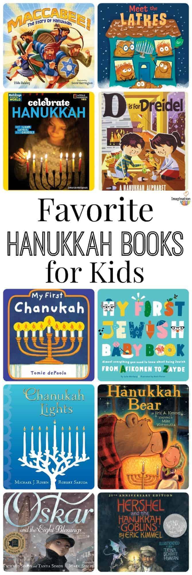 Favorite Children's Hanukkah Books for Kids