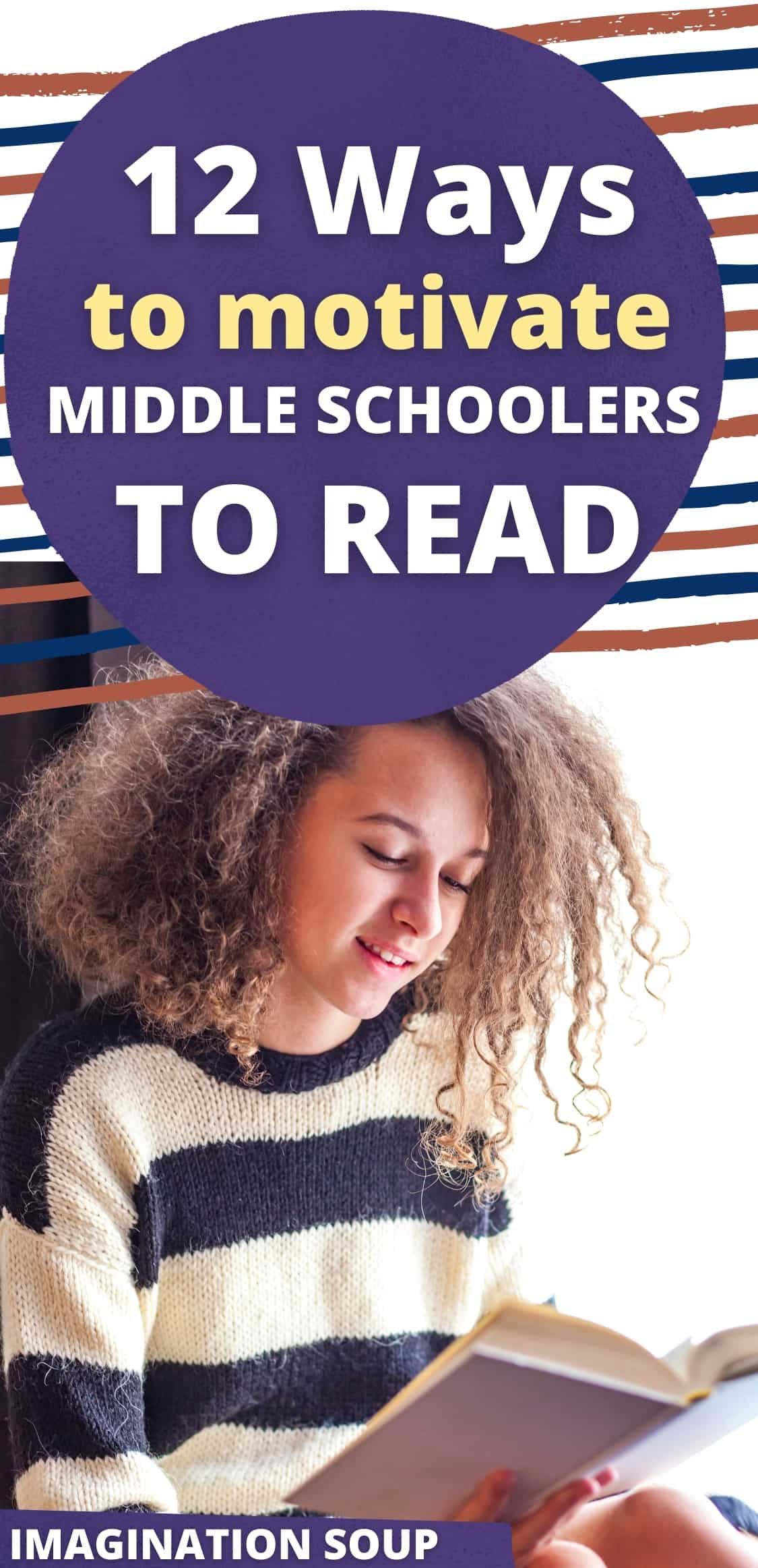 12 ways to motivate middle school kids to read