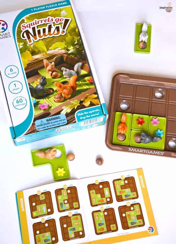 Adorable One Player Puzzle Game: Squirrels Go Nuts!
