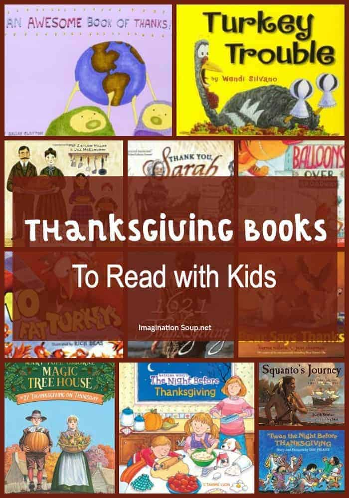 Thanksgiving Books to Read with Kids