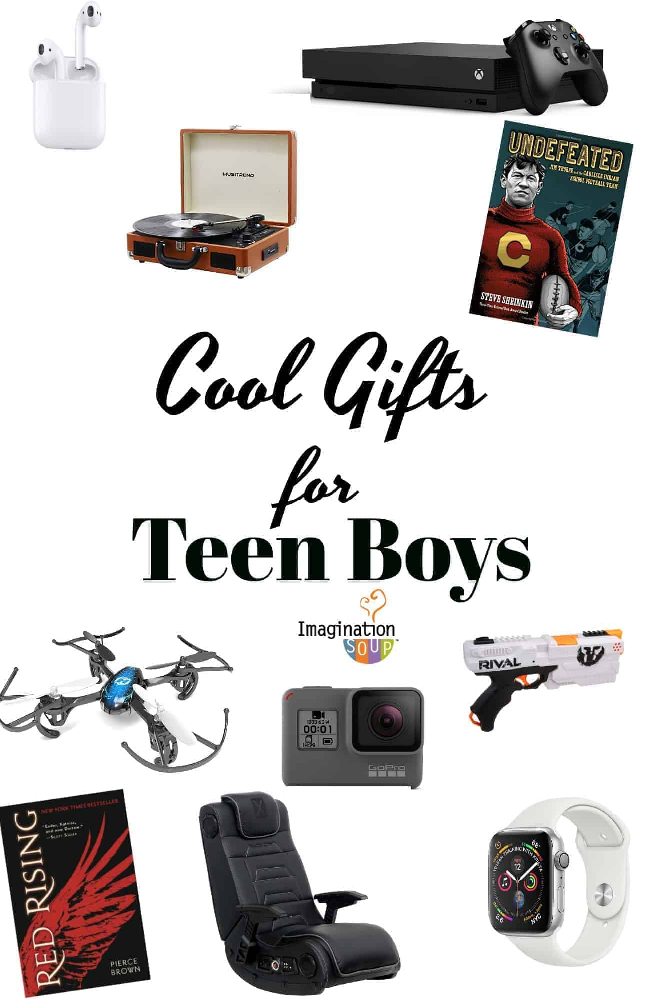 cool gifts for teen boys