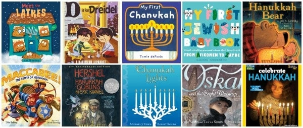 favorite Hanukkah books for kids