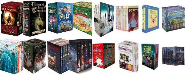 Best Gift Boxed Chapter Book Sets for Kids and Teens