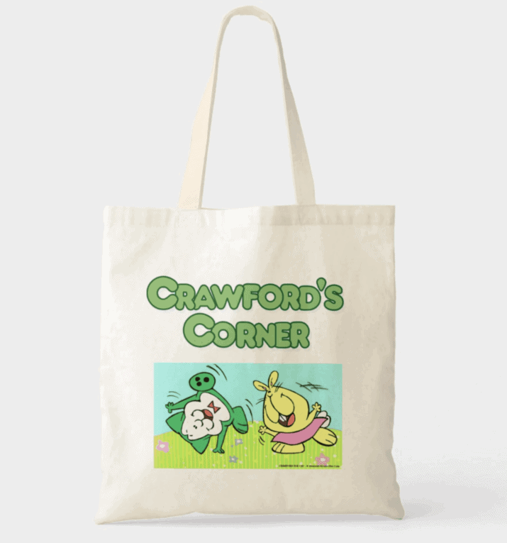 Crawford the Cat tote