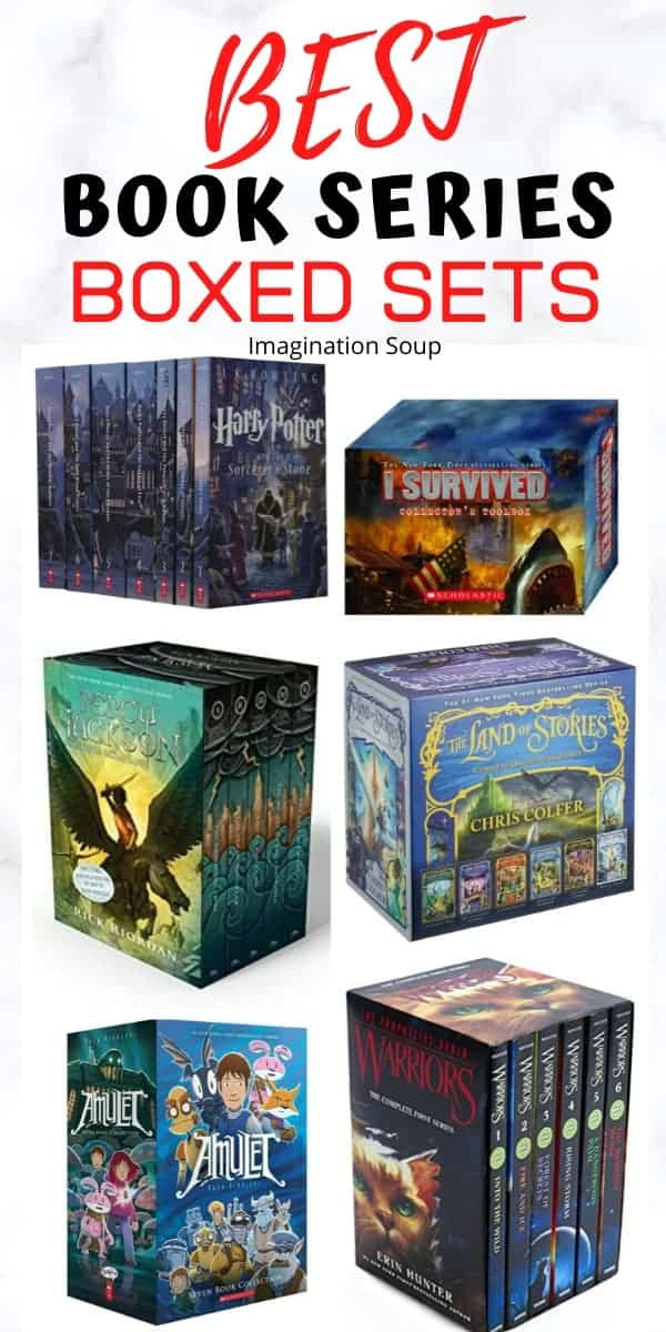 best book series boxed sets for kids