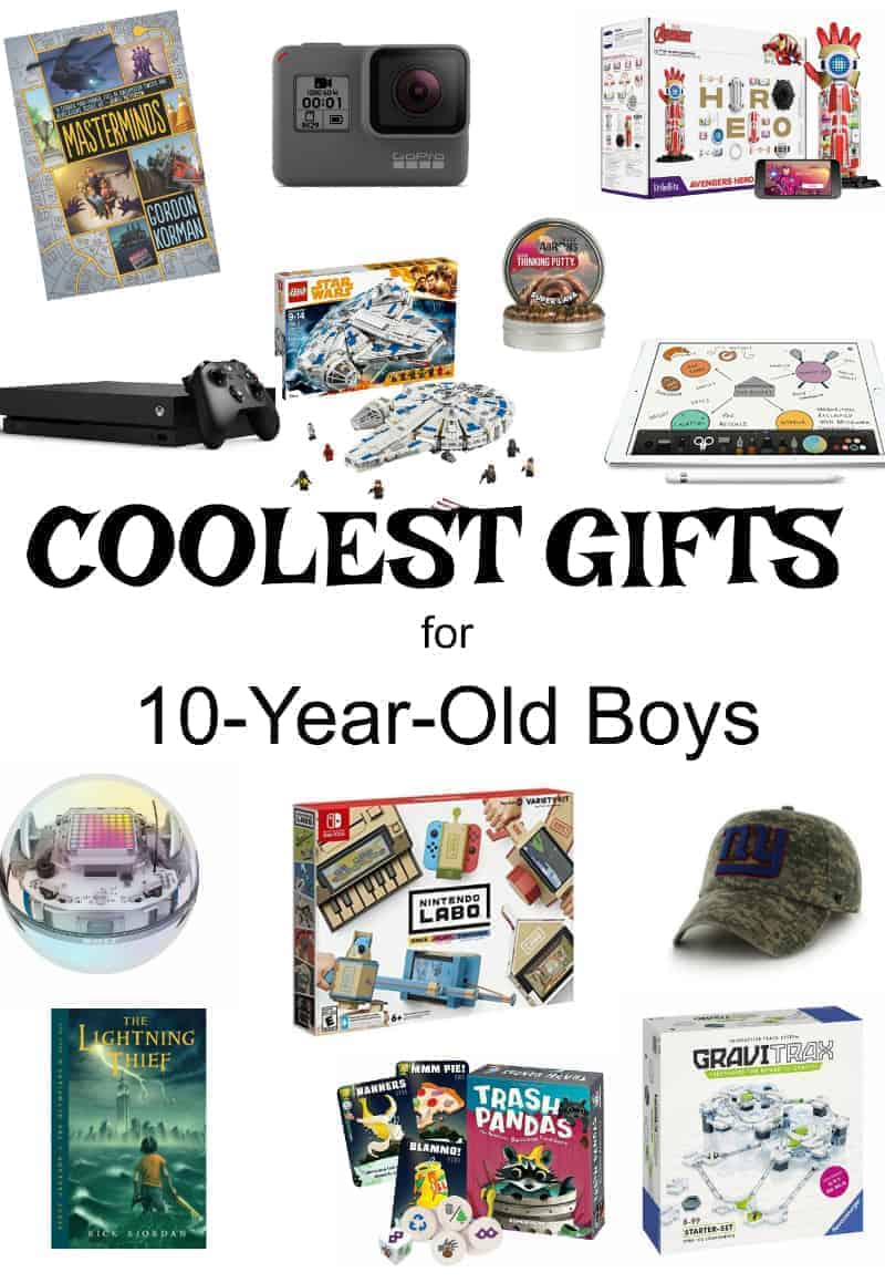 cool gifts for 10 year old boys