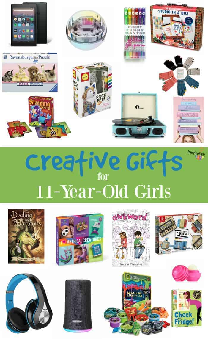creative gifts for 11 year old girls
