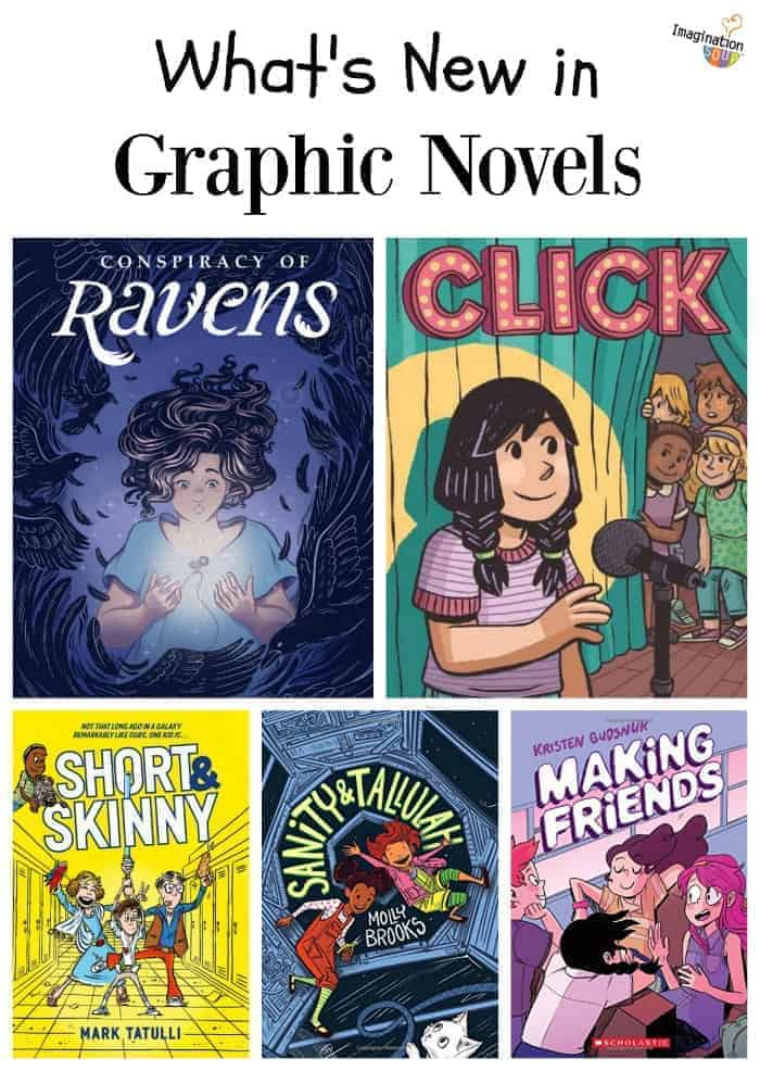 don't miss these new graphic novels