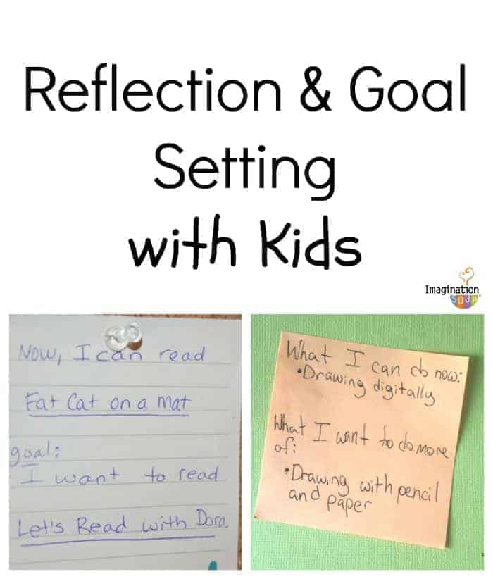 reflection and goal setting with kids