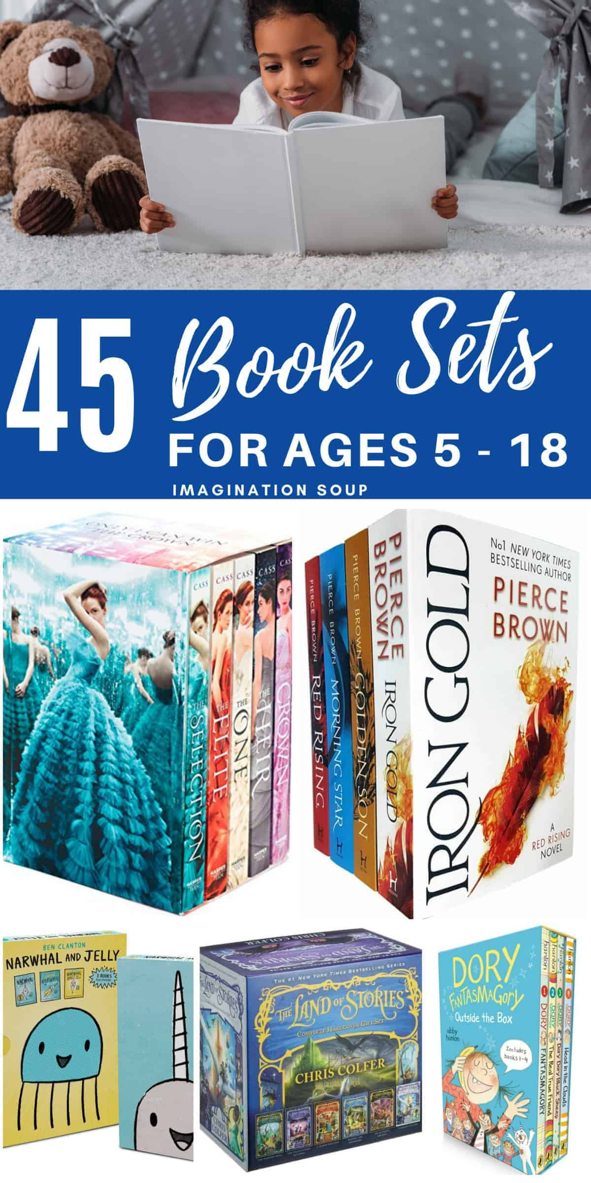 the best boxed book series sets for kids and teens (these make great gifts!)