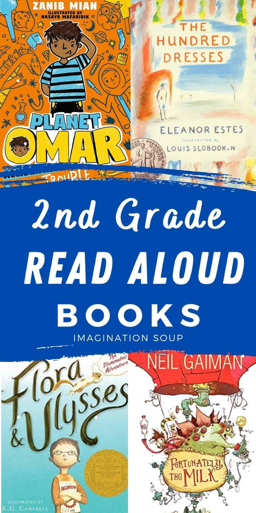 2nd grade read aloud books