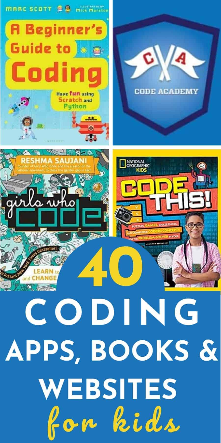 40 coding classes, websites, games, and apps for kids