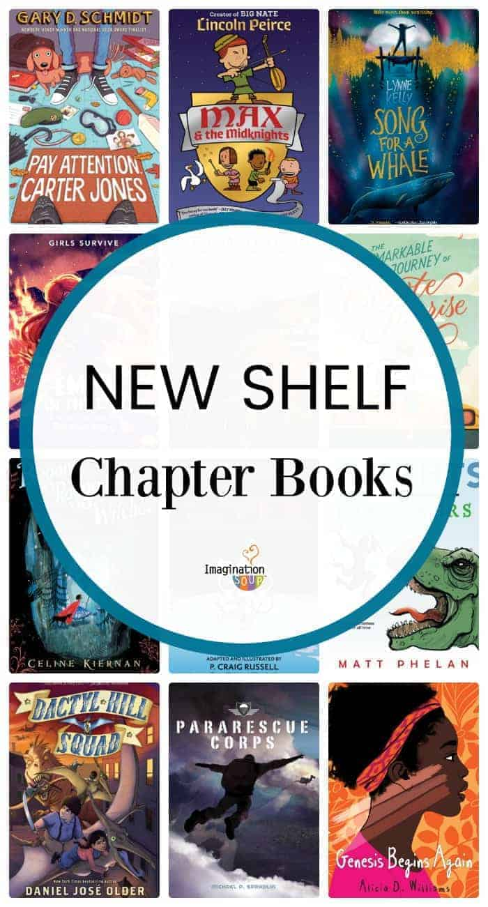 New Middle Grade Books (Ages 8 - 12)