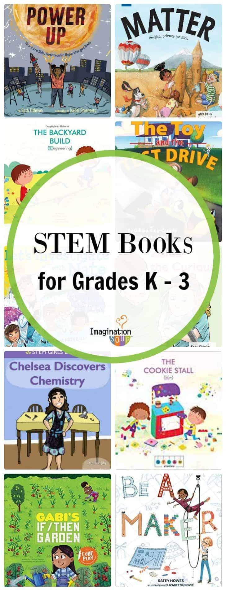 STEM books for grades k 1 2 3