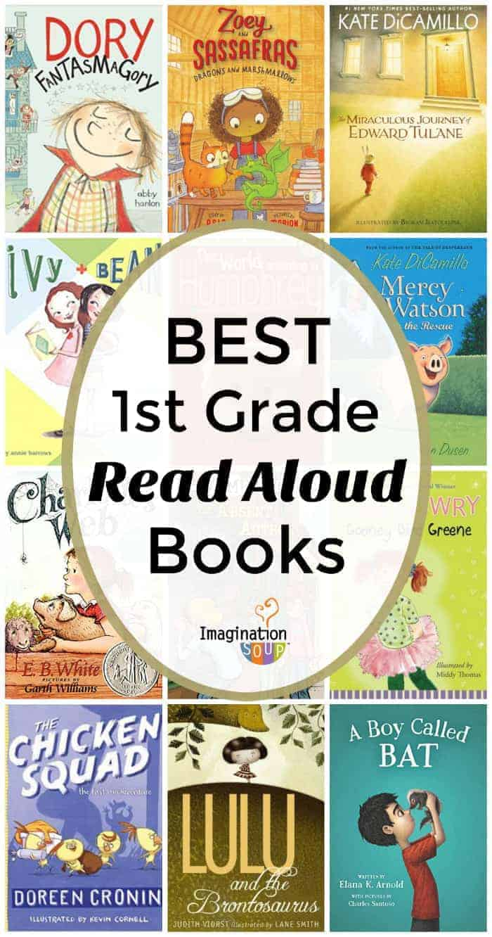 best 1st grade read aloud books recommended by teachers and students