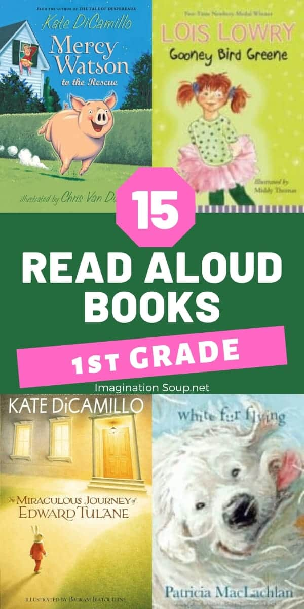 best read aloud books for 1st grade boys and girls (age 6)