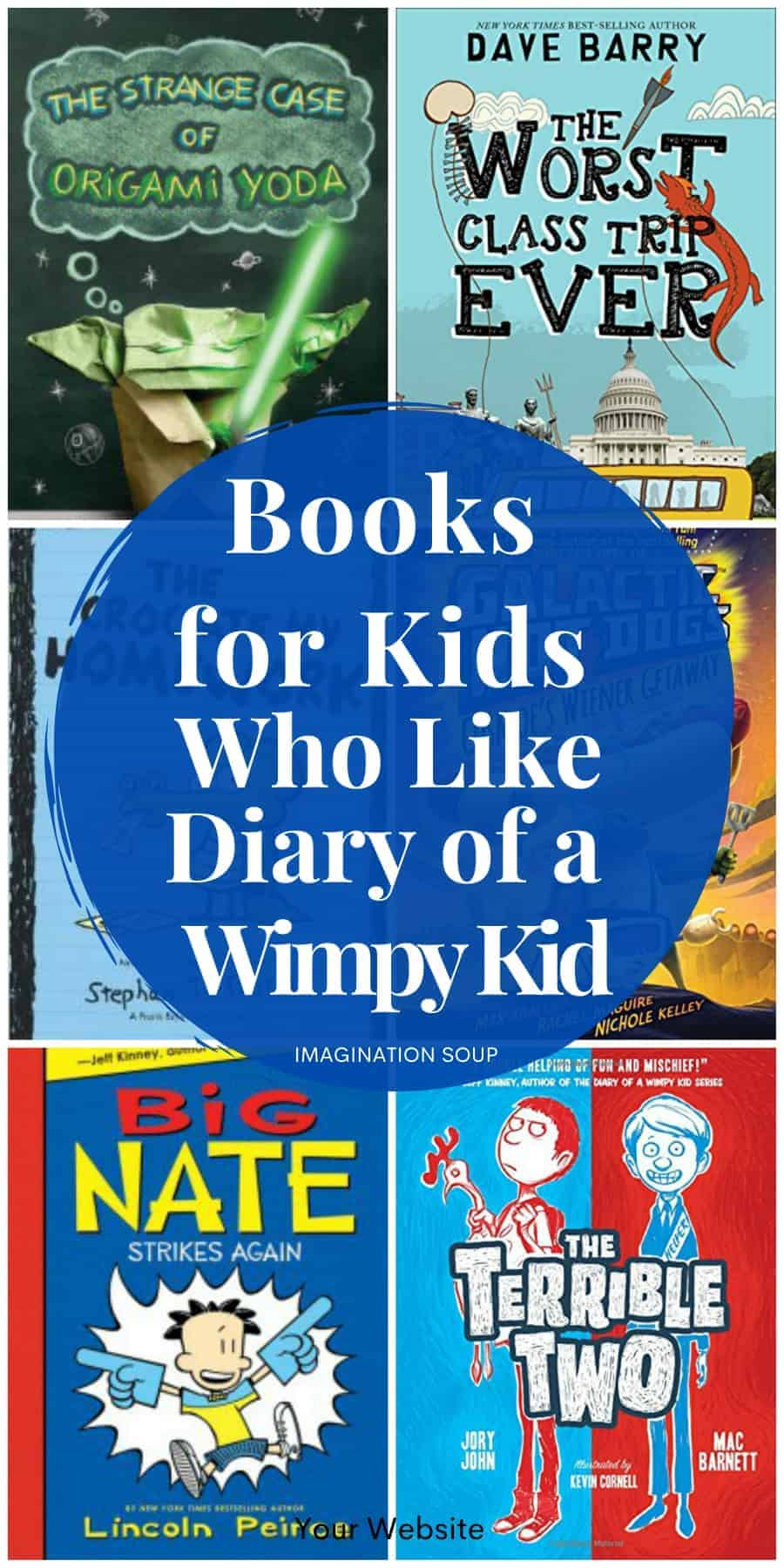 children's books for kids who love the Diary of a Wimpy Kid