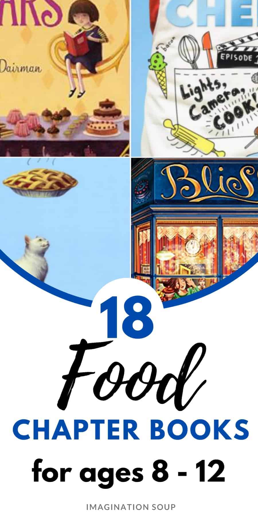 food chapter books for kids