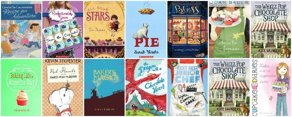 middle grade books for foodie kids who like to bake and cook