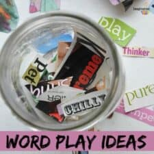 word play ideas for kids