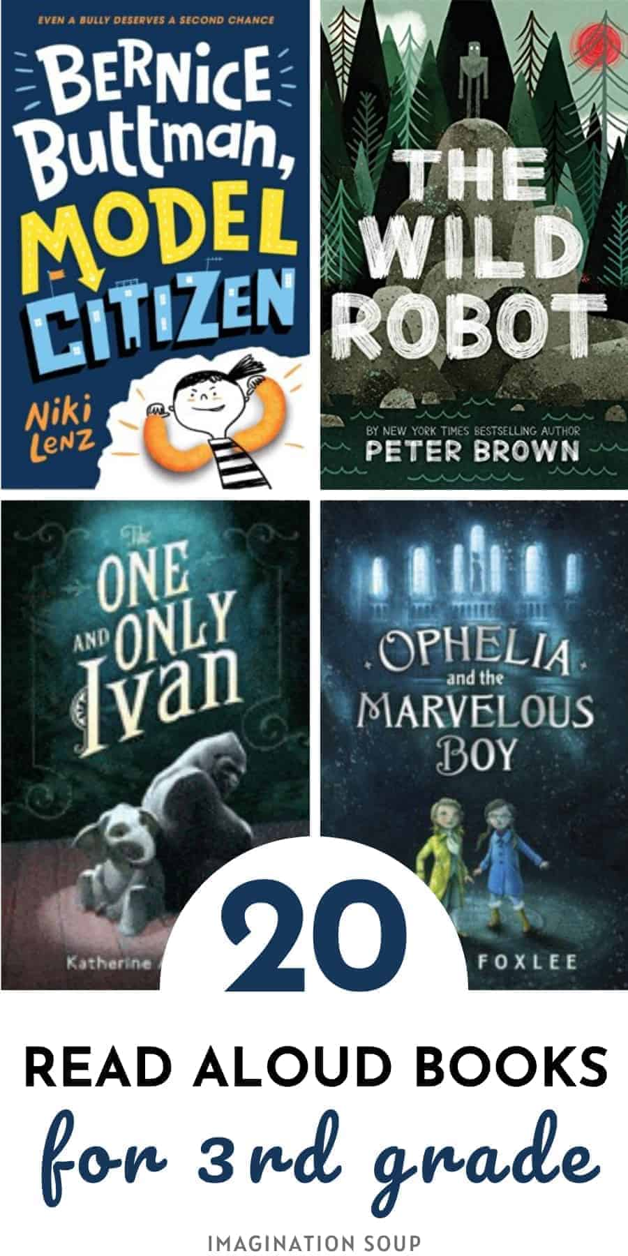 20 read aloud books for 3rd grade