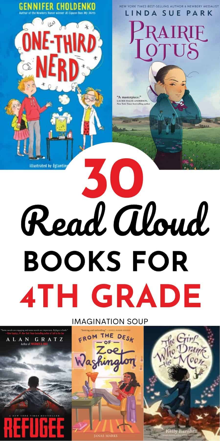 read aloud books for 4th grade