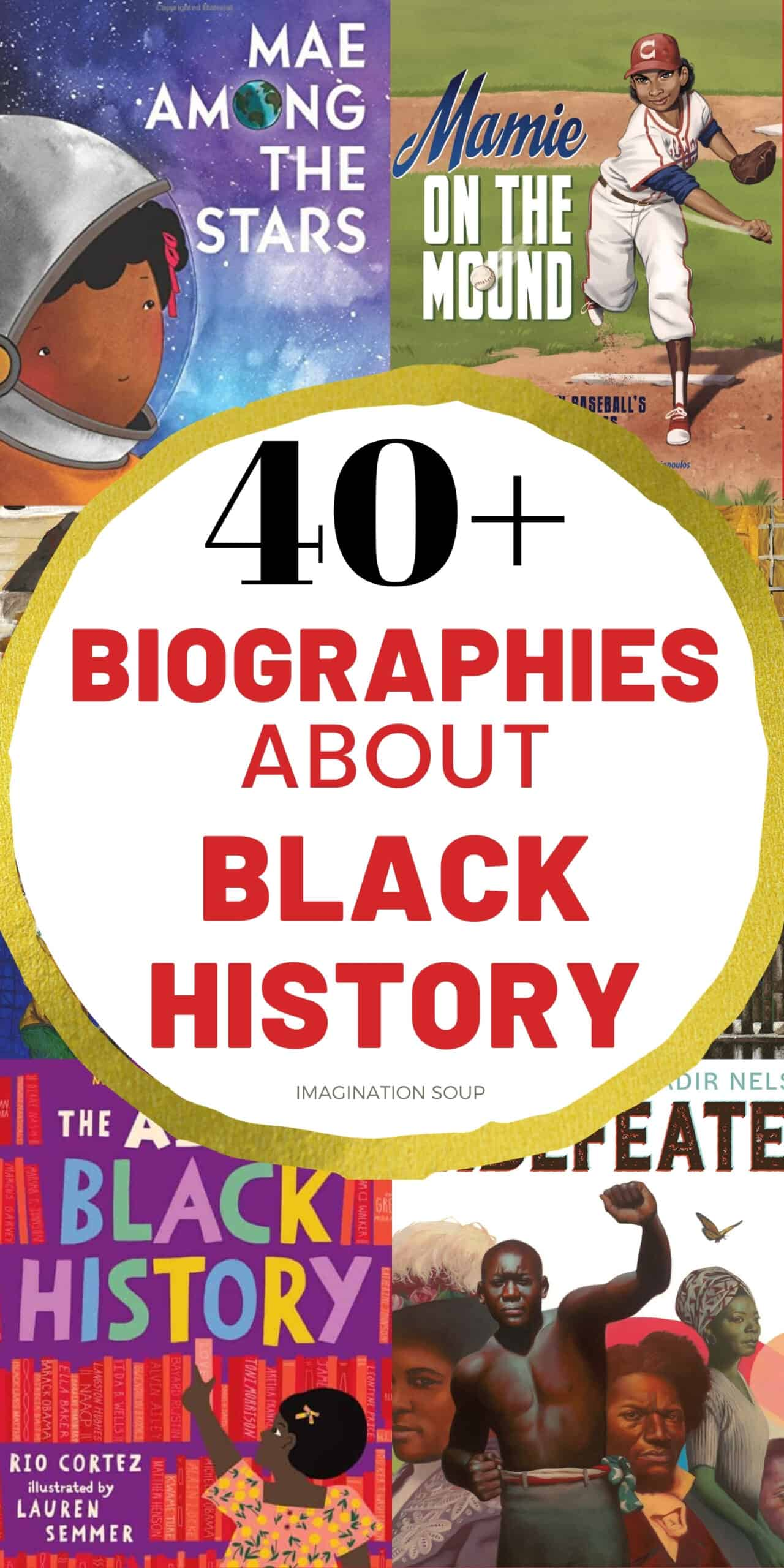 40+ biographies to read about black history