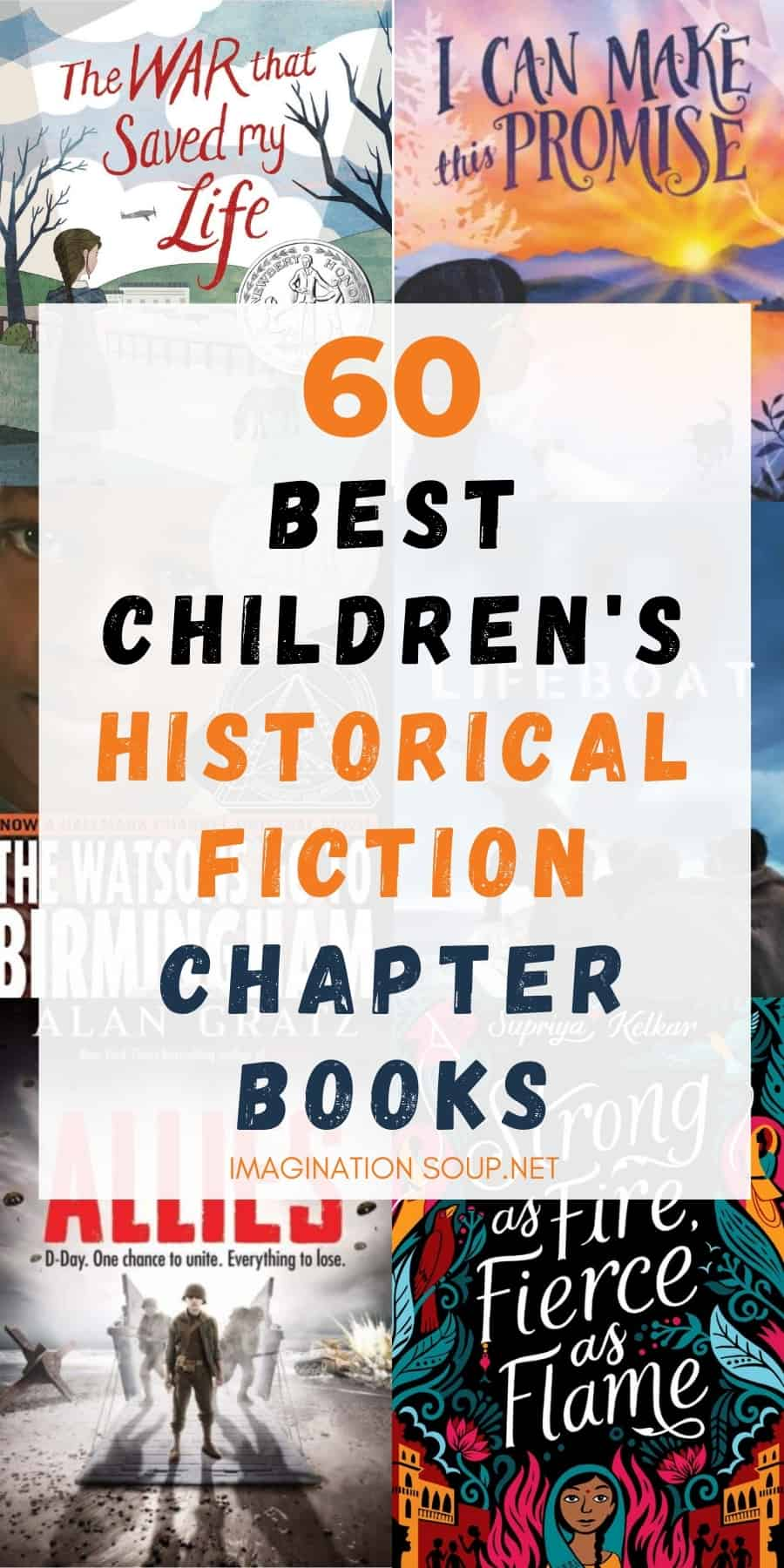 children's historical fiction chapter books kids ages 6 to 16