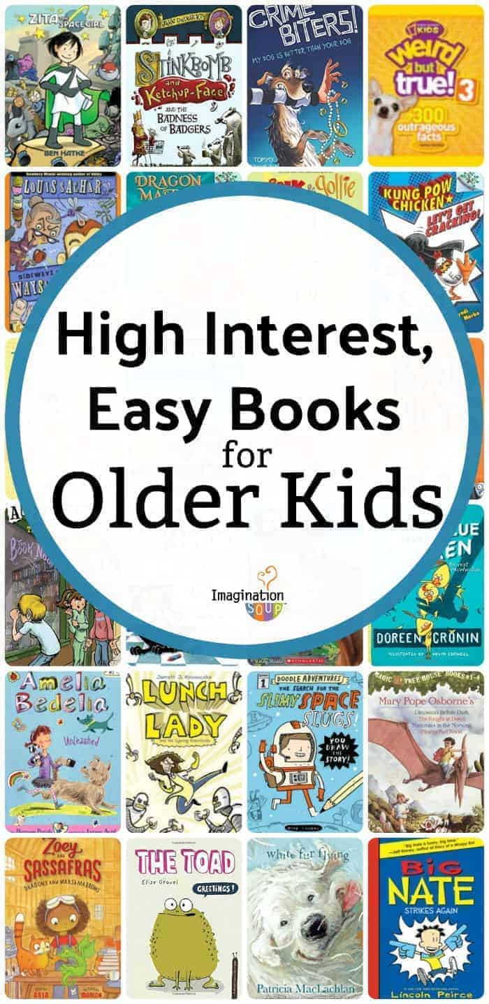 Easy Books for Older Kids (High Low Books for Struggling Readers)