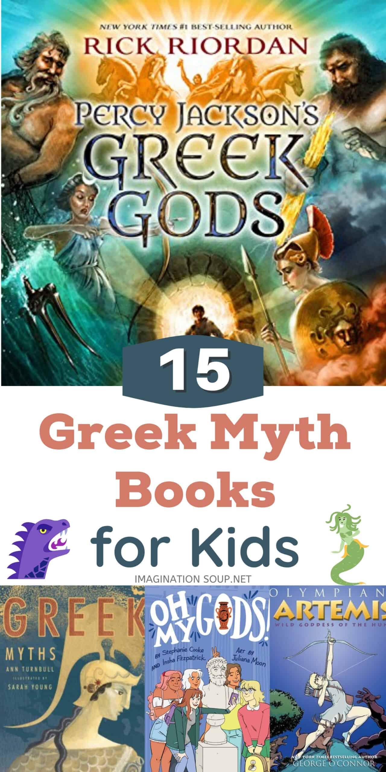 Greek Myth Books for Kids