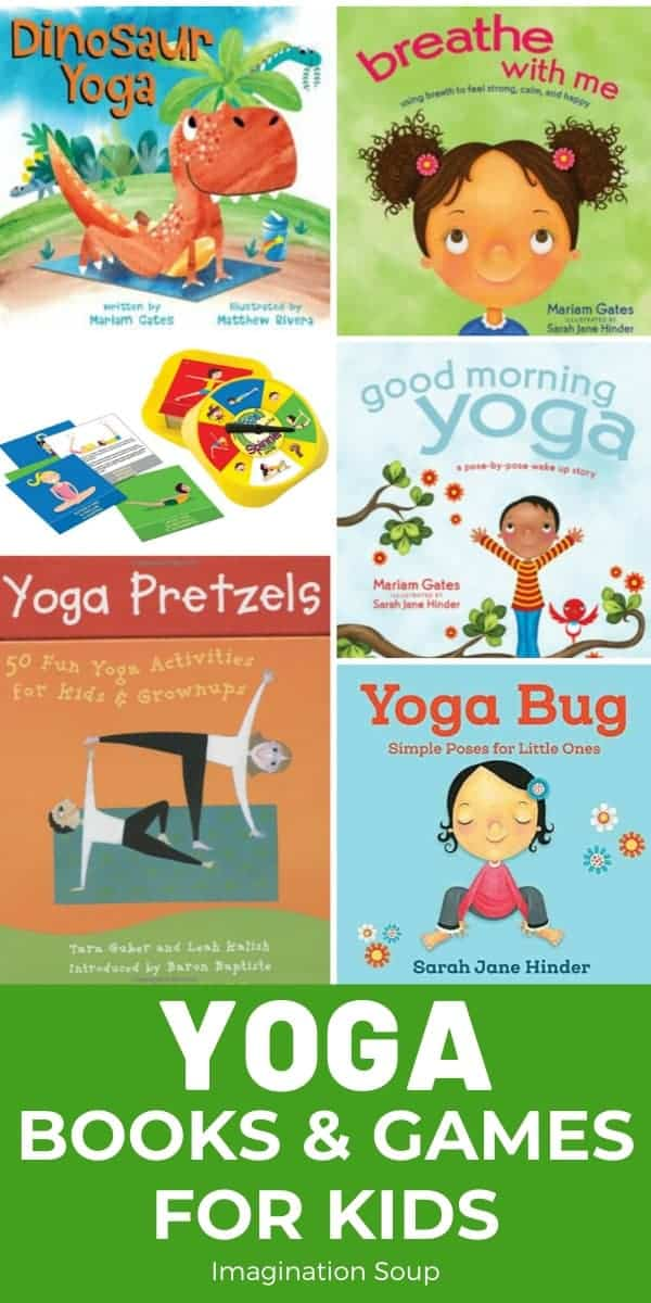 Yoga books & games for kids