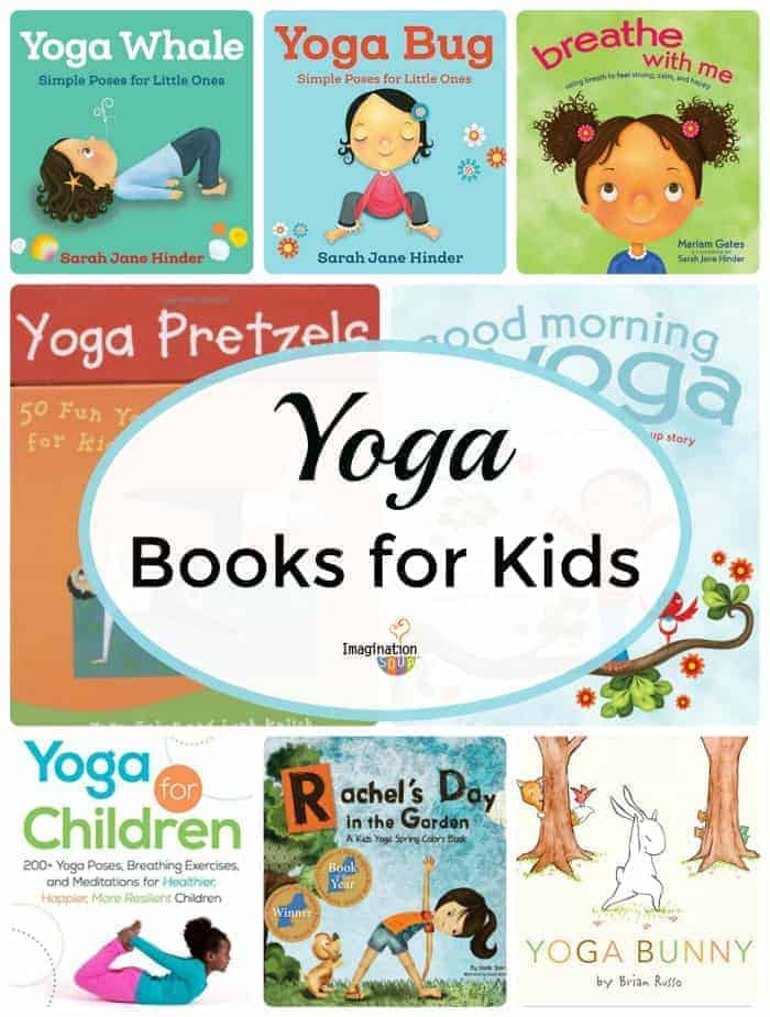 best yoga books for kids