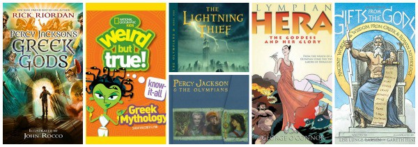 the best greek myth books for kids