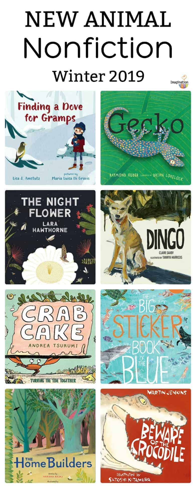 new nonfiction books about animals winter 2019