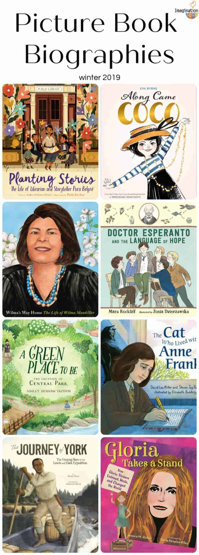 new picture book biographies winter 2019