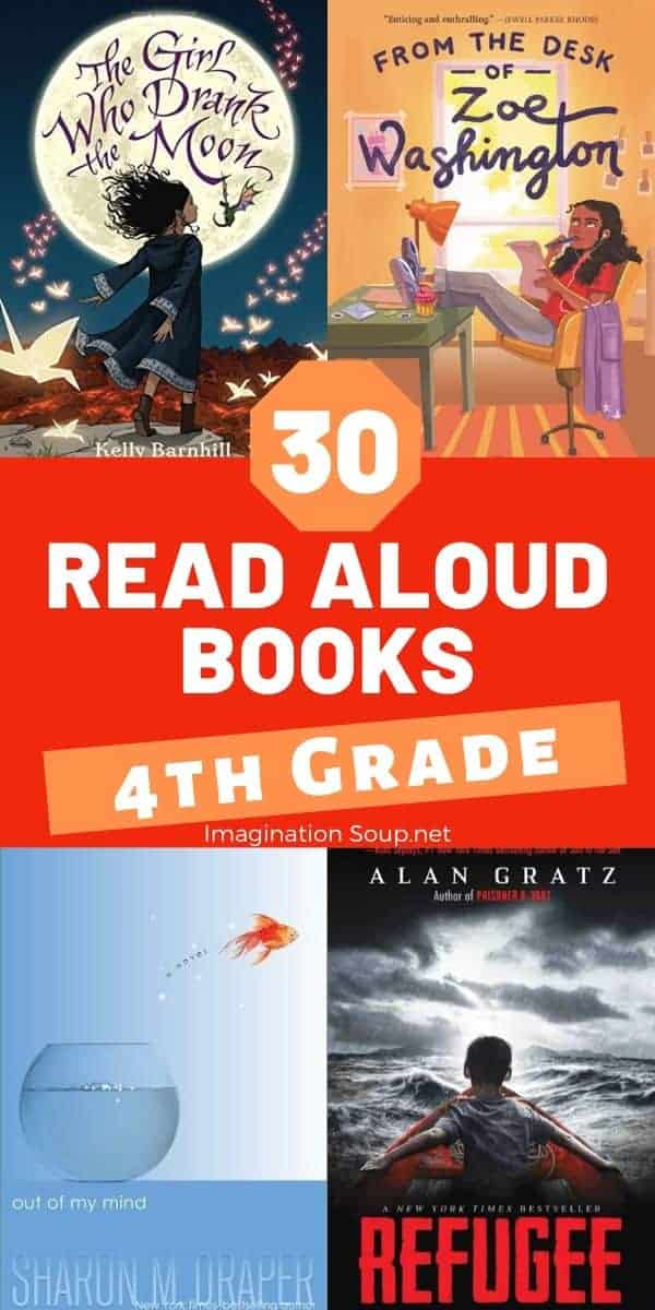 30 read aloud books 4th grade (9 years old)