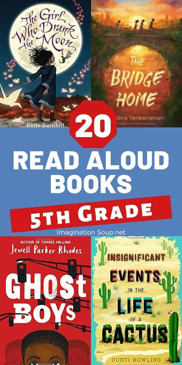 the best read aloud books 5th grade (10 years old)