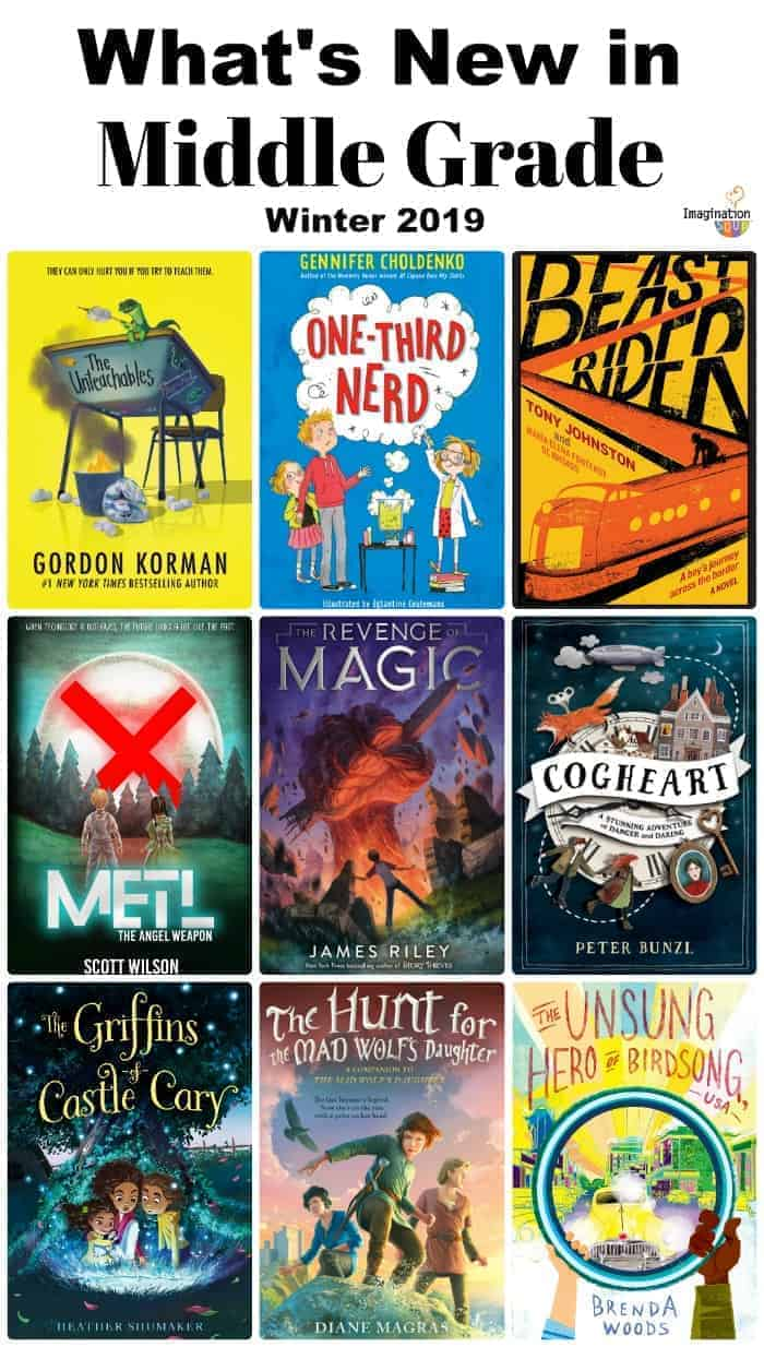 what's new in middle grade books feb 2019