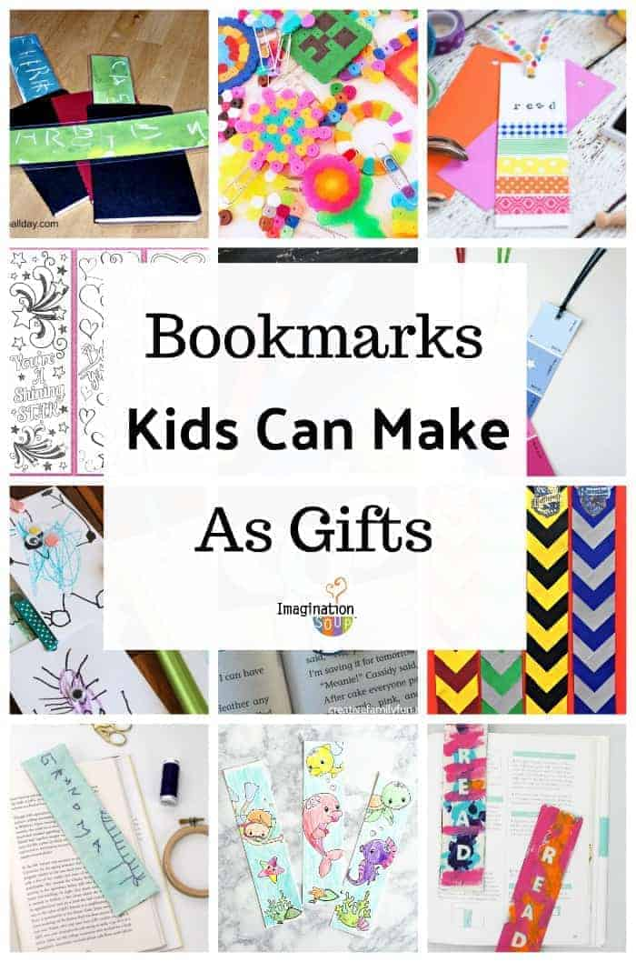 14 Bookmark Projects & Gifts That Kids Can Make Themselves (Great for a Mother's Day handmade gift)