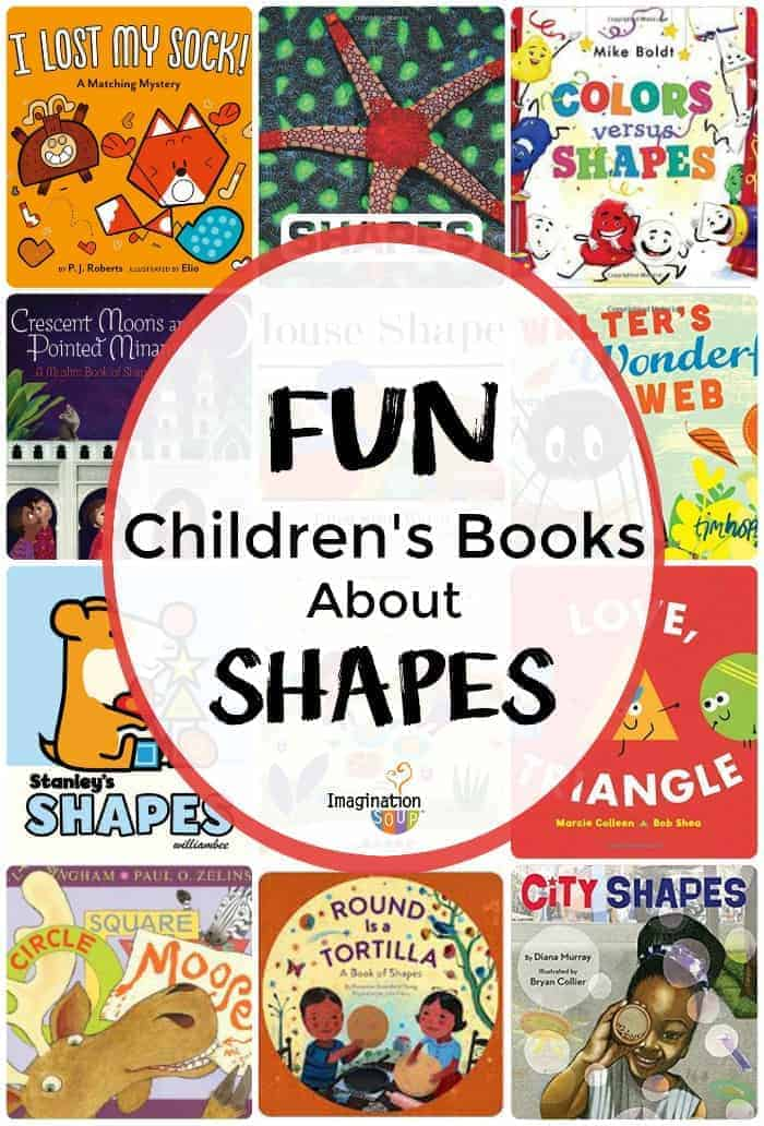 15 Fun Children's Books About Shapes