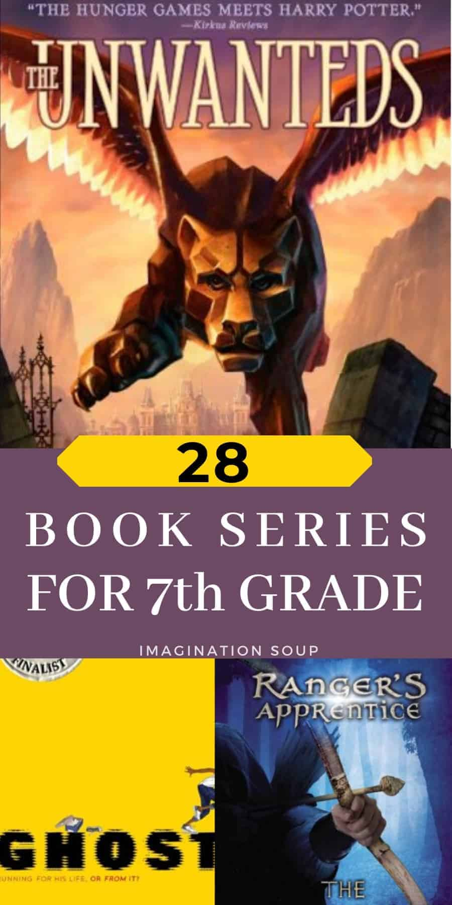 best books in a series for 12 year olds in 7th grade (and up)