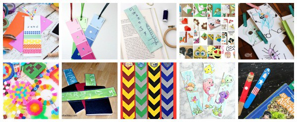 DIY Bookmark Activities for Kids