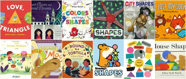picture books about shapes