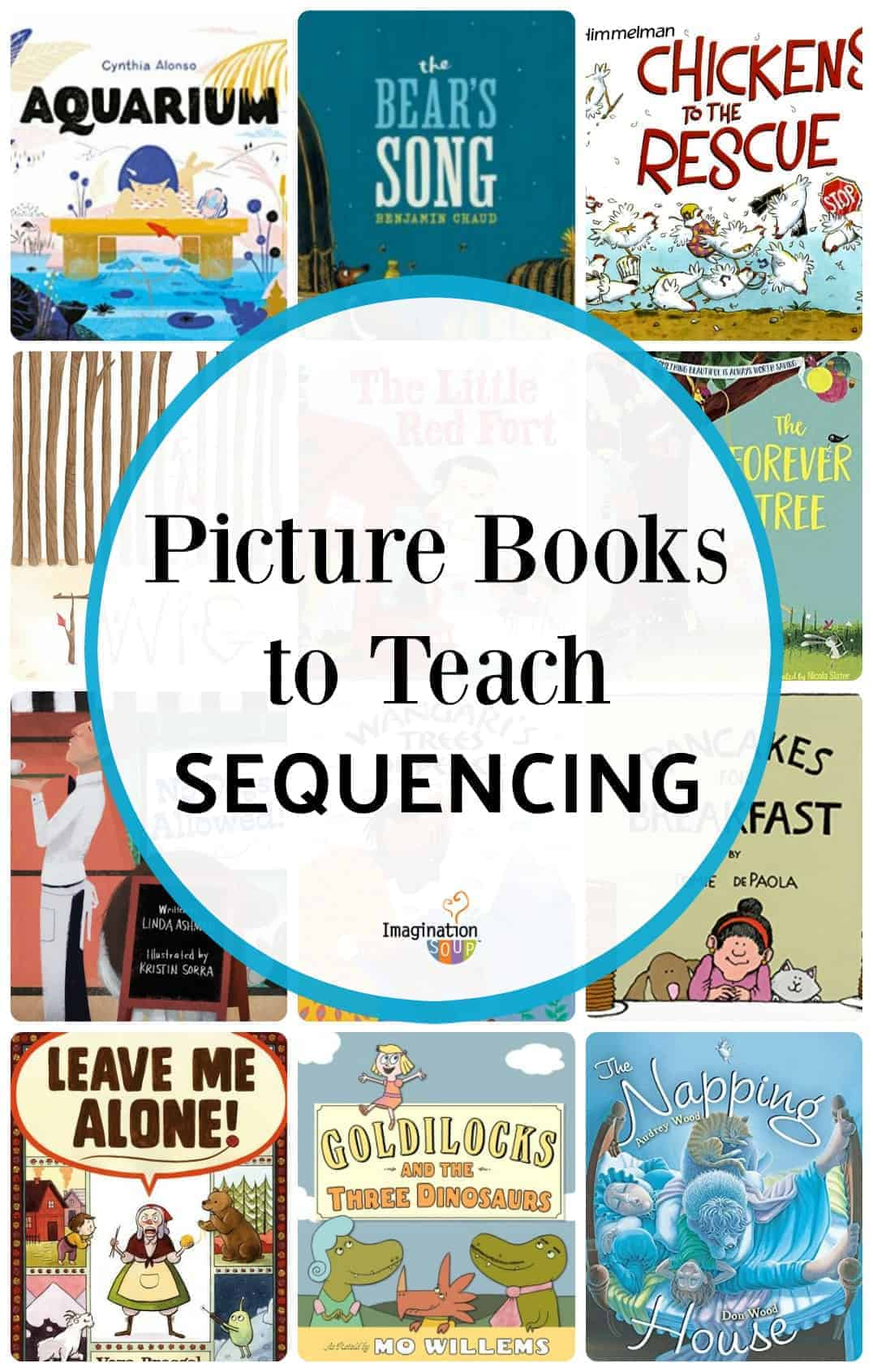 Picture Books to Teach Sequencing & Beginning, Middle, and End