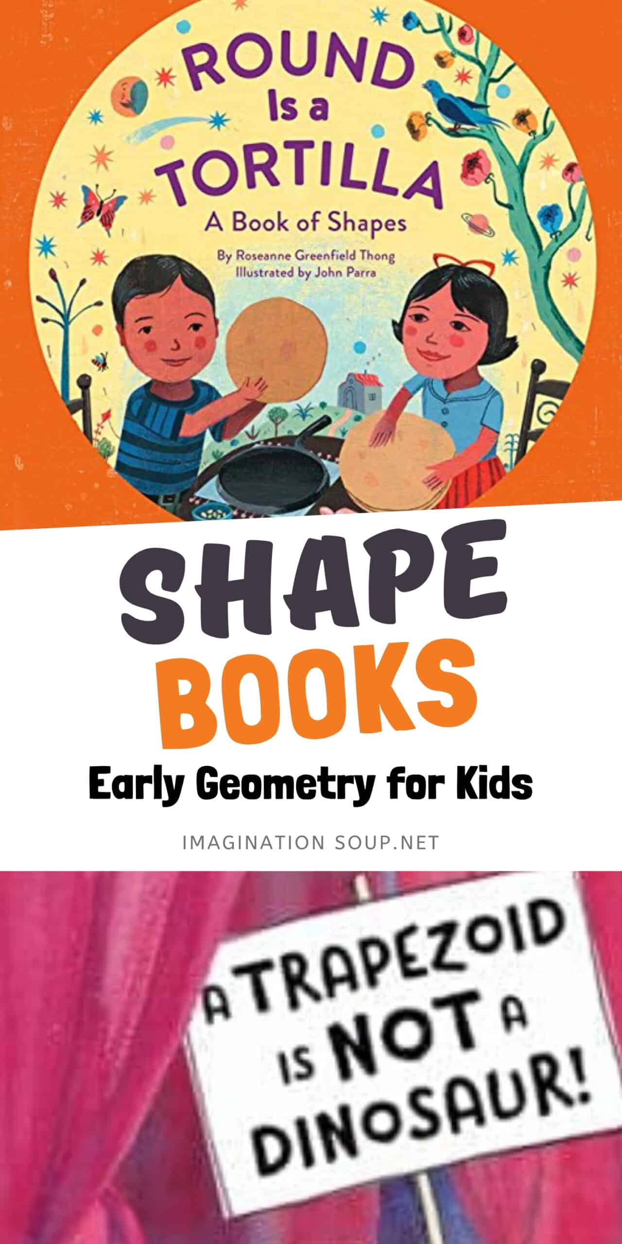 THE BEST BOOKS ABOUT SHAPES FOR KIDS