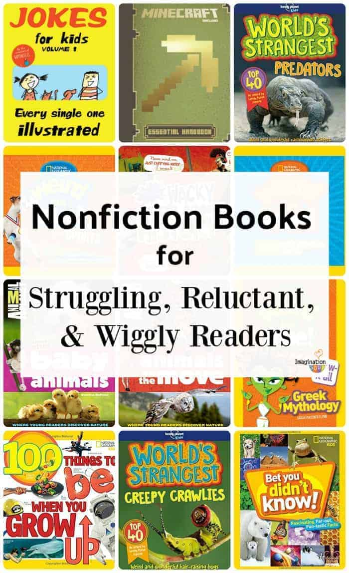 Short Nonfiction Books That Work for Struggling, Reluctant, and Wiggly Readers