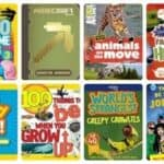 Short Nonfiction Books for Reluctant, Struggling, & Wiggly Readers